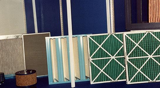 Filtri per aria ventilata